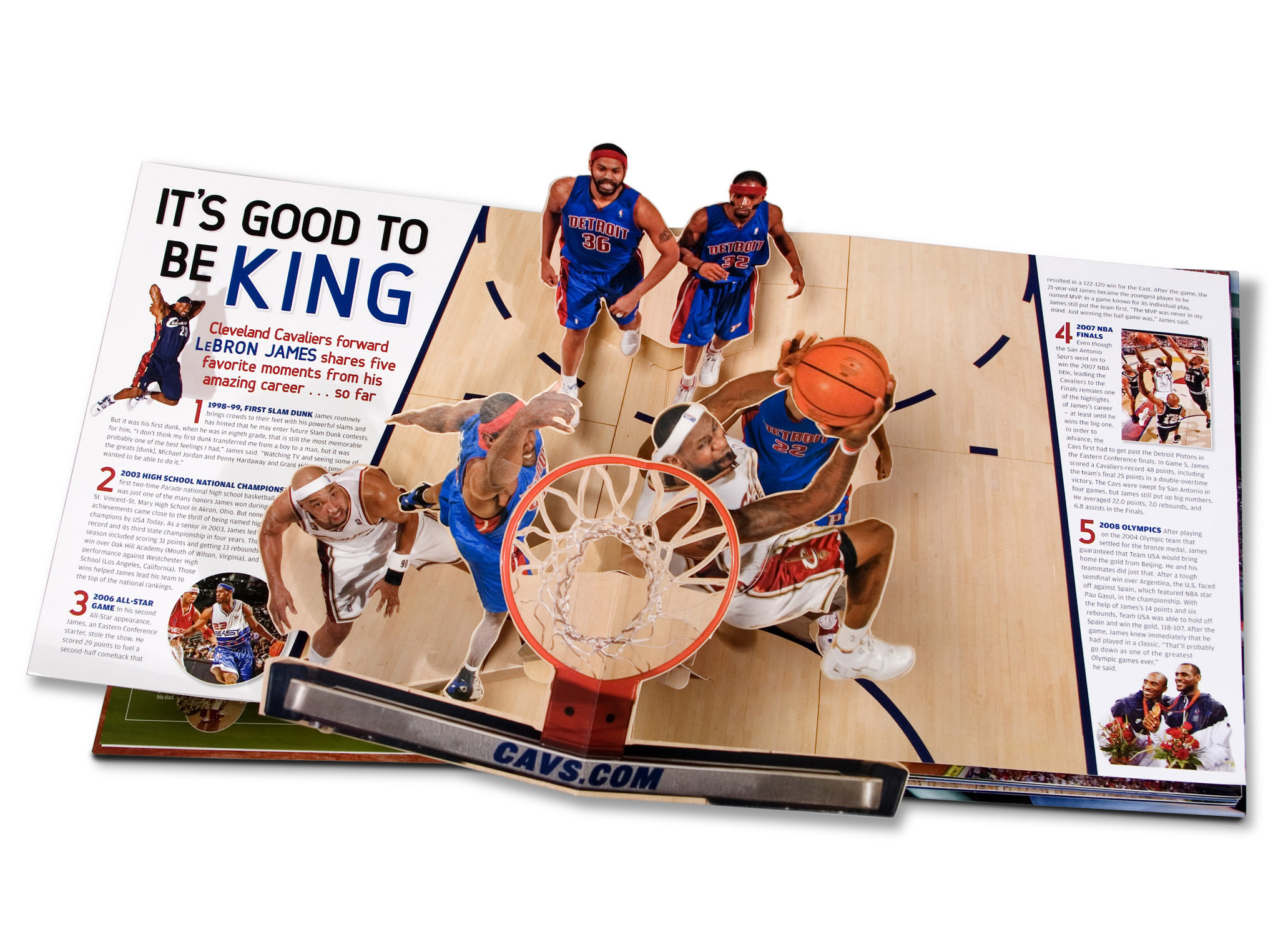 Sports Illustrated Popup Book