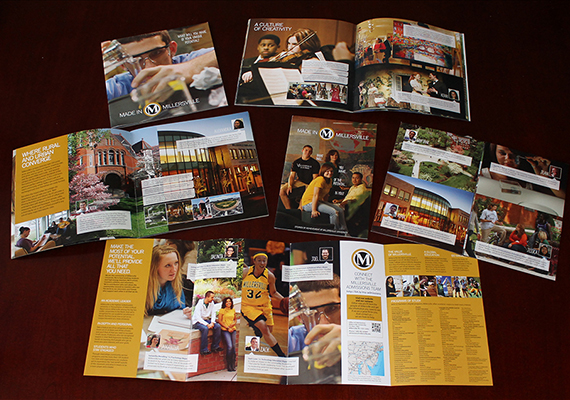 Millersville University - Admissions Recruitment Materials