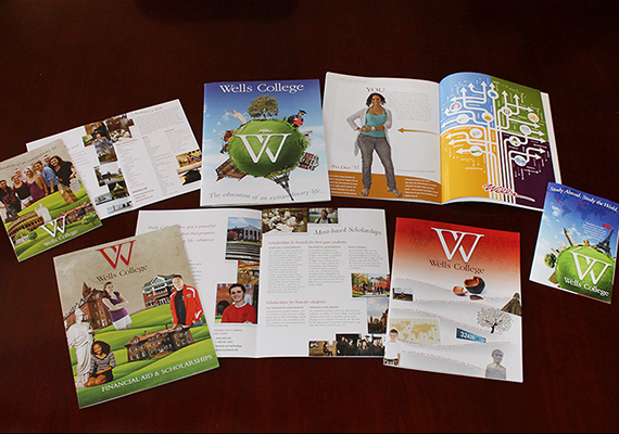 Wells College - Admissions Recruitment Materials