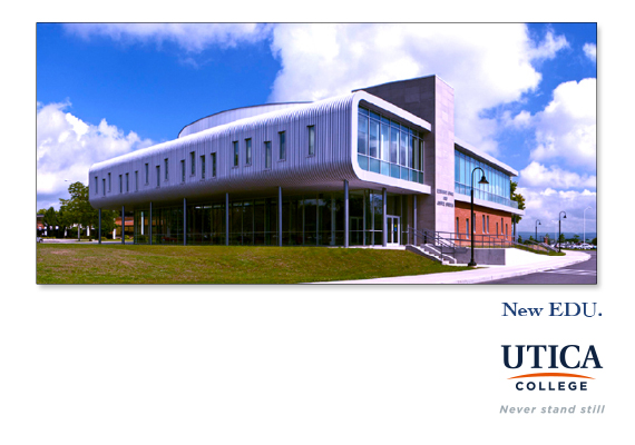 Utica College - Brand Development Concept Boards