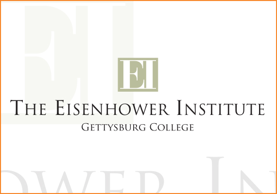 The design goal for this identity was to position The Eisenhower Institute competitively in the context of other public policy institutes, while also representing the fact that it is an integral part of the Gettysburg College educational experience.